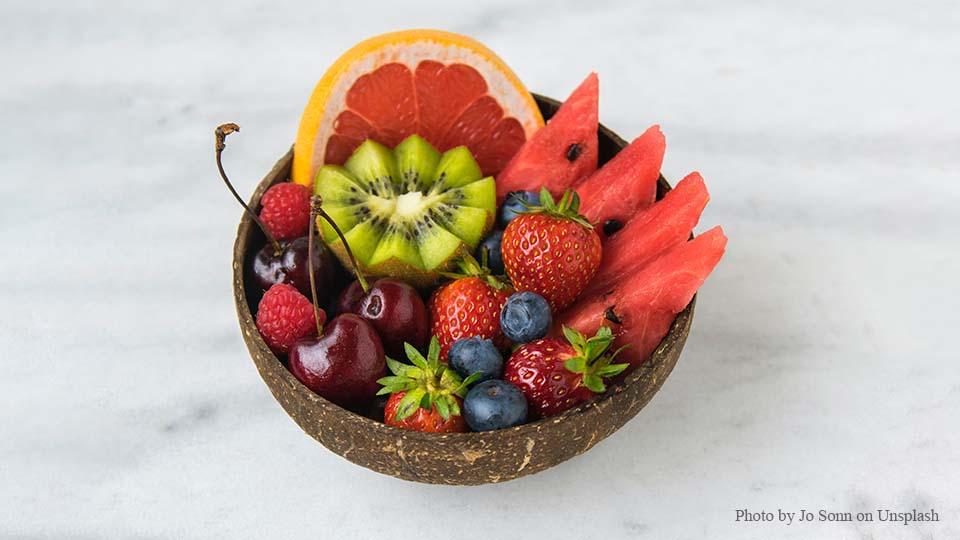 대시 다이어트 식단 예시 과일