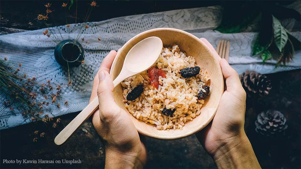 대시 다이어트 식단 예시 현미밥 잡곡밥