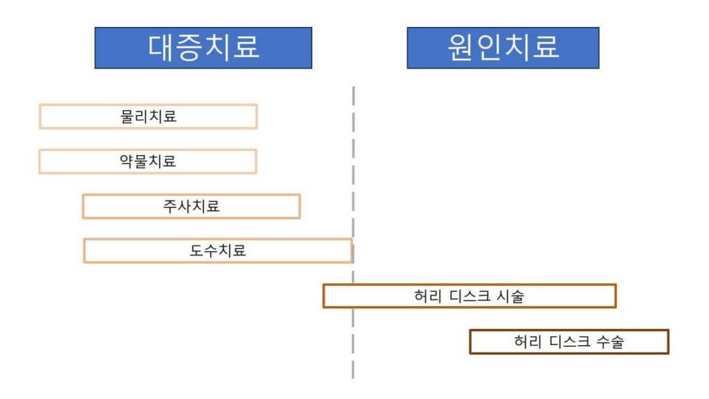 허리 디스크 치료 종류 및 분류