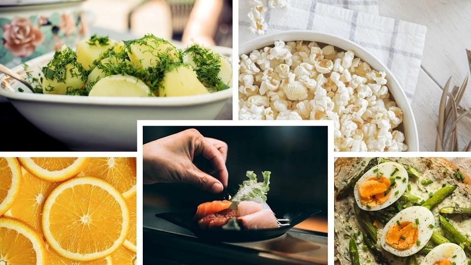 다이어트 음식들